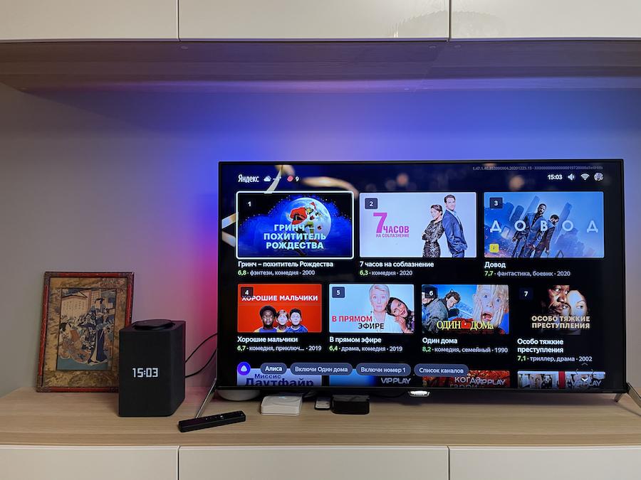 «Яндекс.Станцию Макс» можно подключить к телевизору