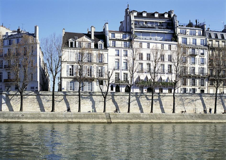 Набережная Орлеан, Париж, Франция