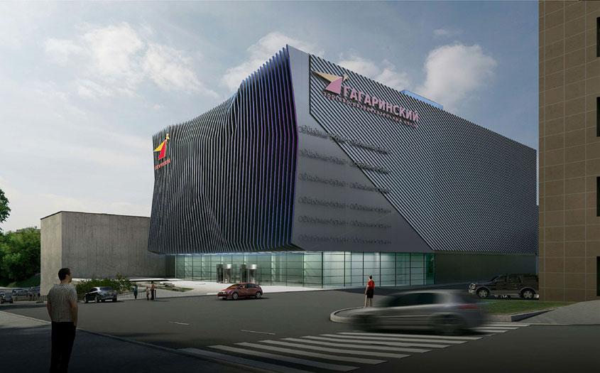 Общая площадь здания составит 36490кв.м, кинотеатра— 7600кв. м