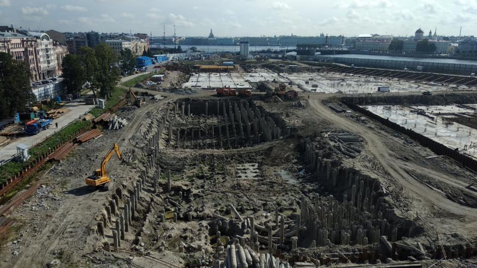 Участок на проспекте Добролюбова, где должен появиться новый парк