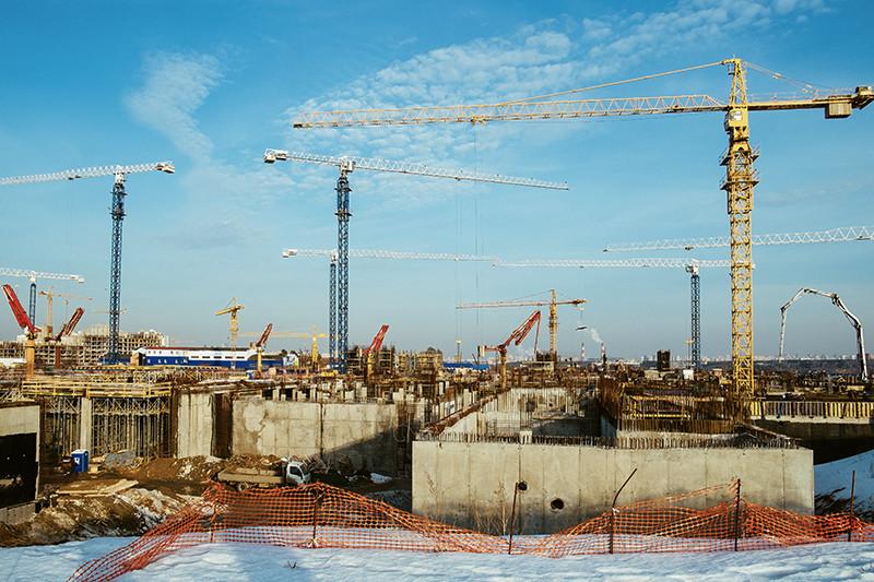 Сроки завершения строительства университетского кампуса Сколтеха перенесли с 1 сентября 2014 года на 31 декабря 2015 года