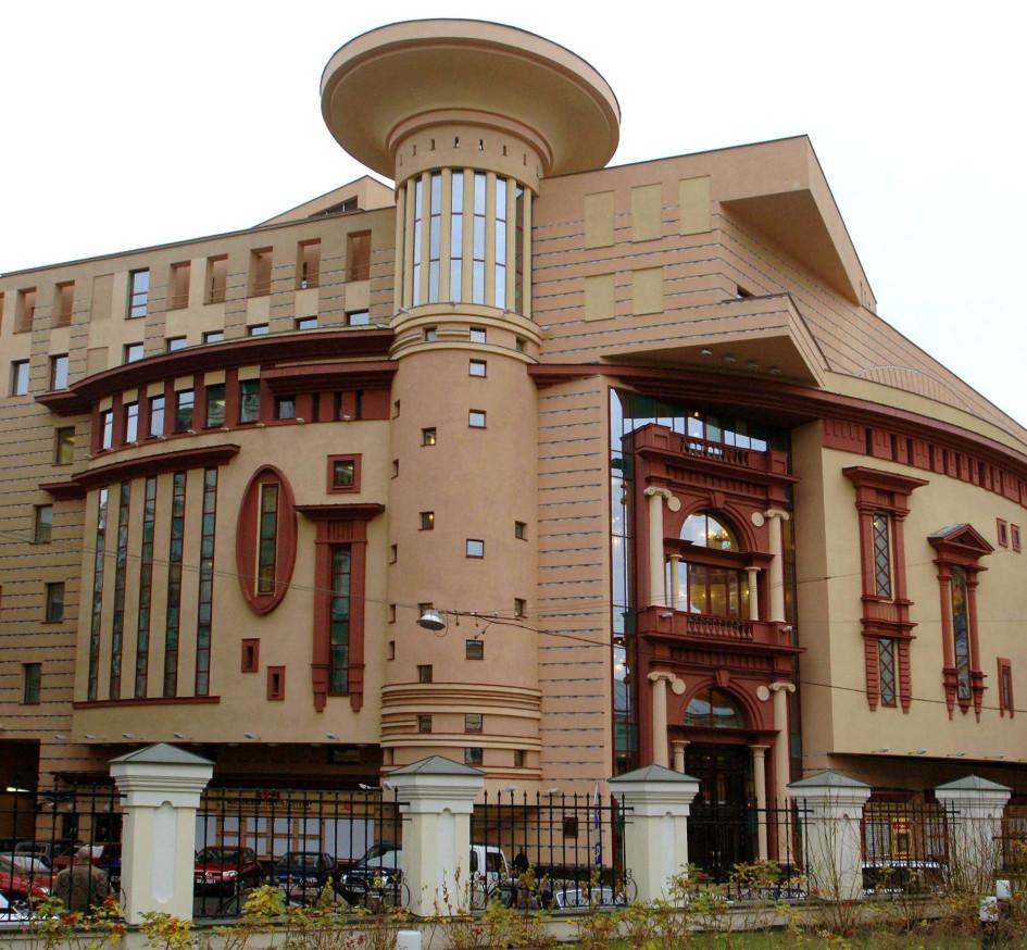 Здание театра Et Cetera, расположенное в Малом Харитоньевском переулке