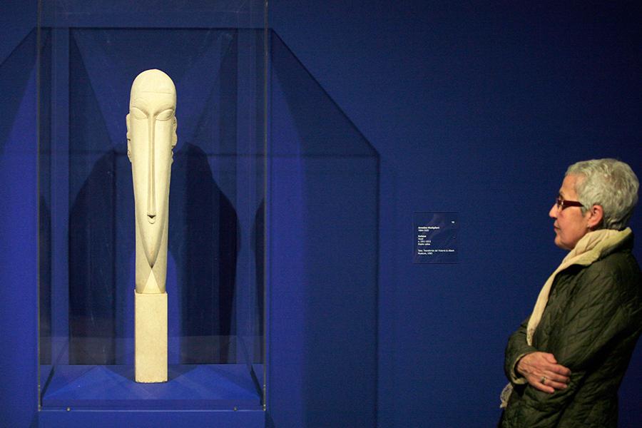 Скульптура Амедео Модильяни «Голова»