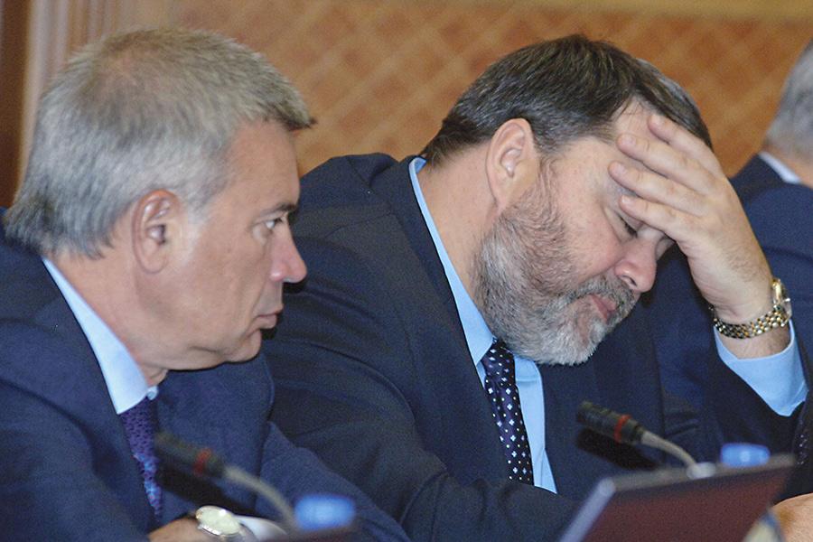 Вагит Алекперов и Игорь Артемьев