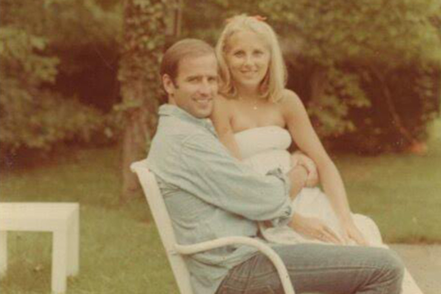 Джо Байден с супругой Джилл