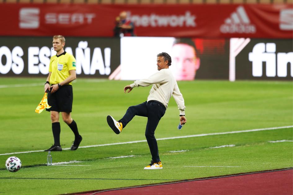 Луис Энрике, главный тренер сборной Испании