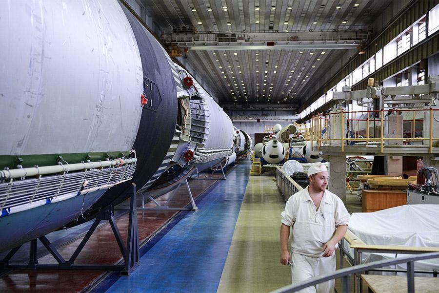 Цех Государственного космического научно-производственного центра имени М.В. Хруничева
