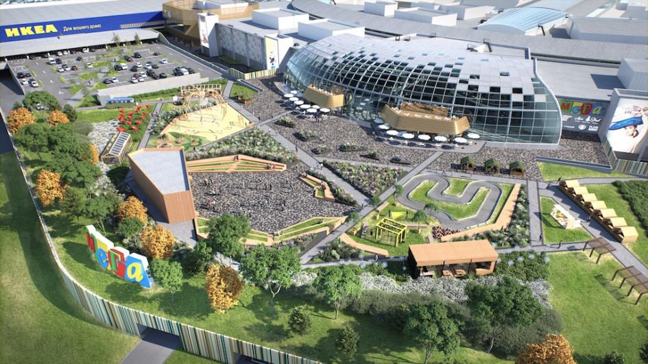 Арендопригодная площадь торгового центра увеличится со 146 тыс. до 207 тыс. кв. м