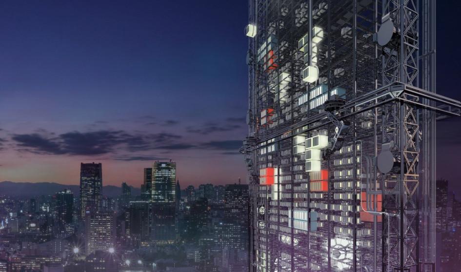 Гигантский 3D-принтер предназначен дляазиатских городов