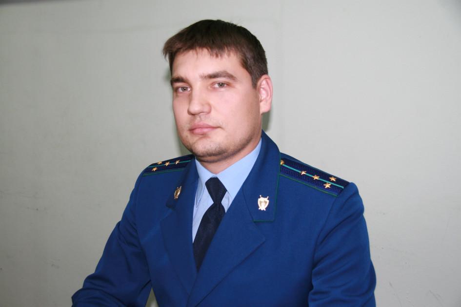 Прокурор управления по надзору за исполнением федерального законодательства прокуратуры РТ Динар Сагадеев
