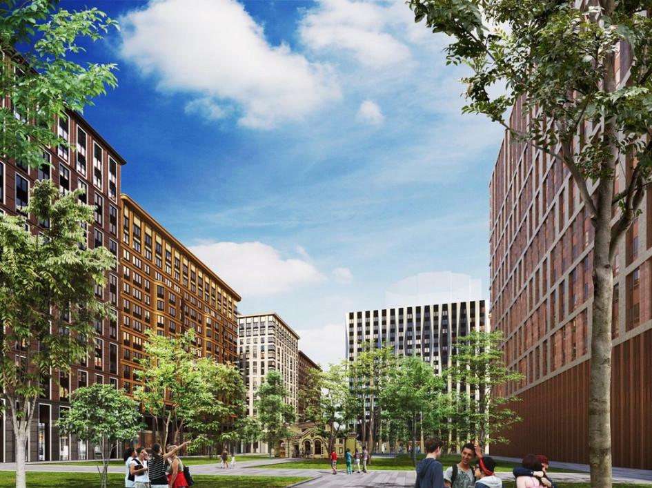 Проект многофункционального жилого комплекса наЛенинградском проспекте,вл. 31 (ЖК «Царская площадь»)