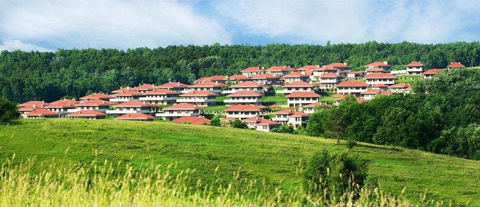 Поселок «Маєток», общий вид