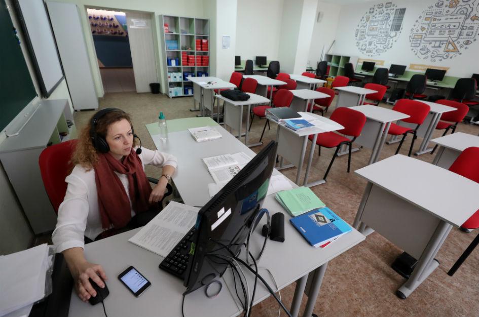 Уроки могут проходить в режиме онлайн