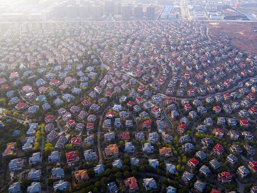 Пригород китайского города Ухань