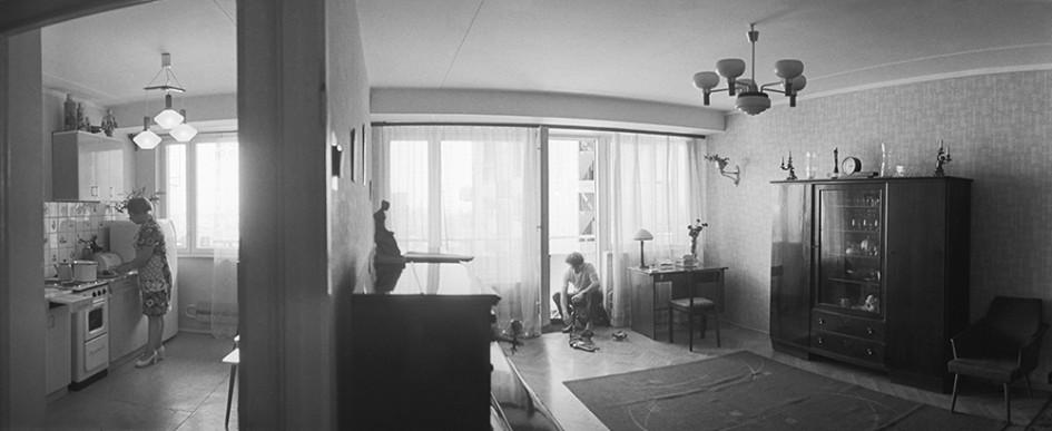 Жилищное строительство в Москве, 1977 год. Москвичи обживают новые квартиры