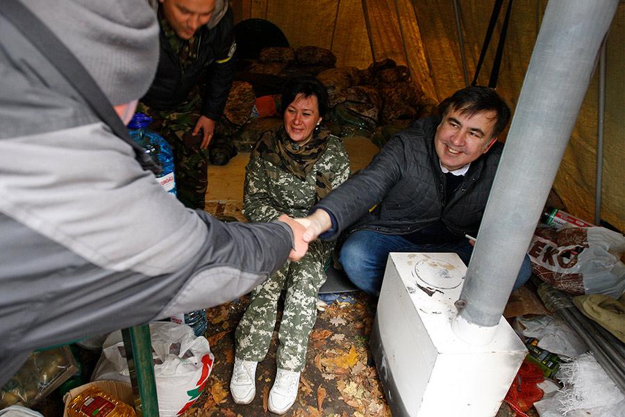 Михаил Саакашвили. 22 октября 2017 года