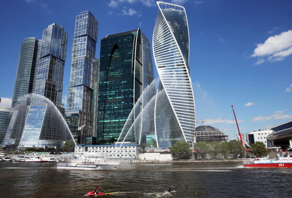 Башня «Эволюция» в«Москва-Сити»