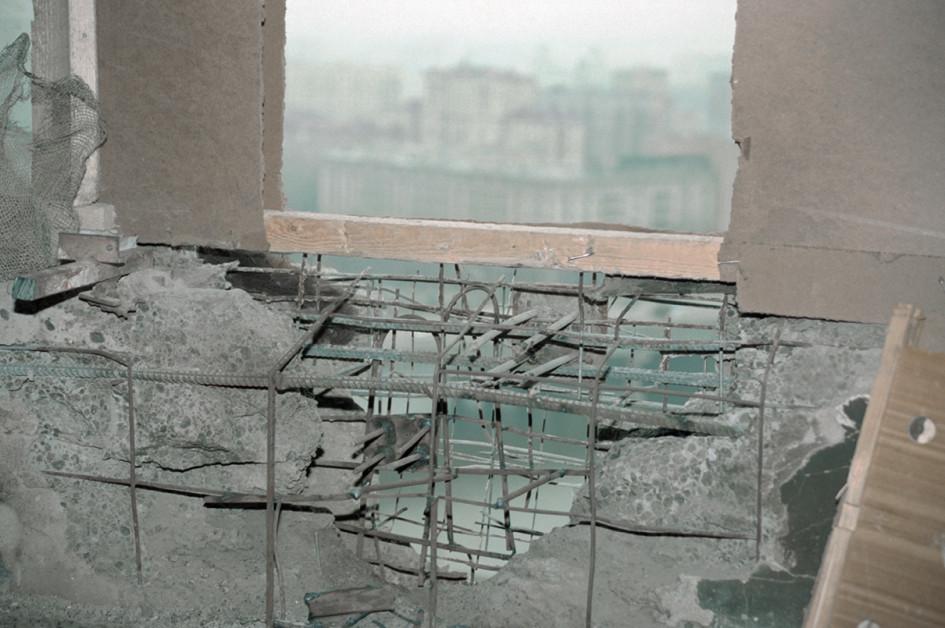 Пробитие в стене