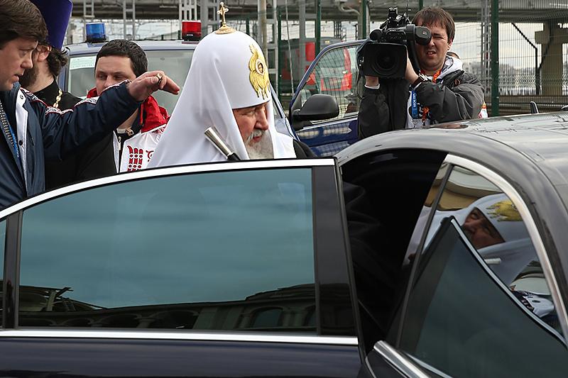 После Алексия II услугами ФСО продолжает пользоваться ипатриарх Кирилл