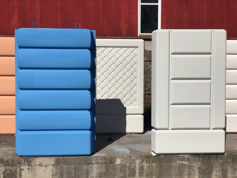 Панельные блоки для сборки домов
