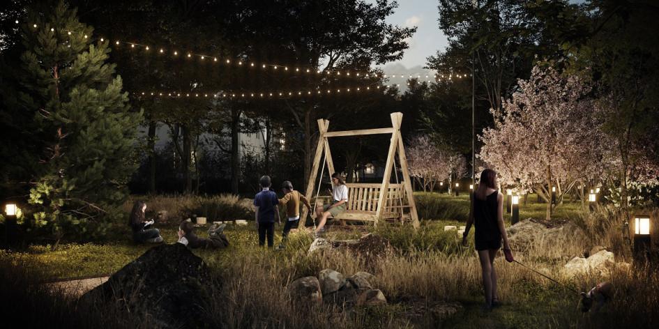Архитектурное бюро «Дружба». Проект «Дача во дворе»