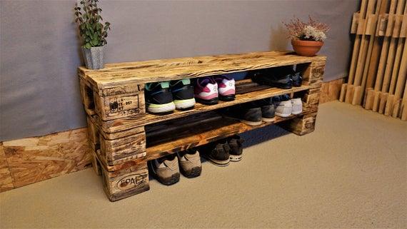 Обувница из палет