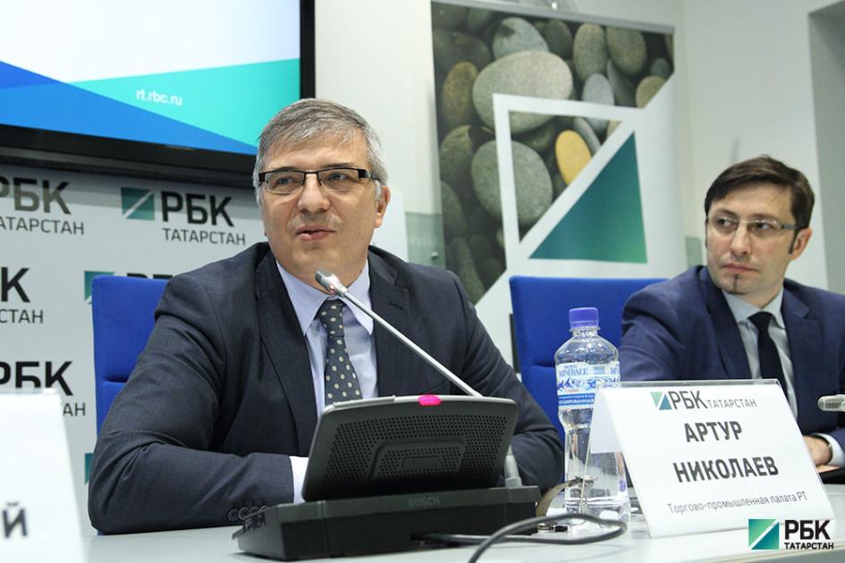 Заместитель председателя правления Торгово-промышленной палаты РТ Артур Николаев
