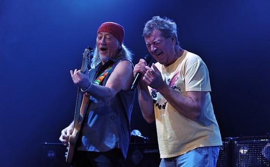 Рок-группа Deep Purple