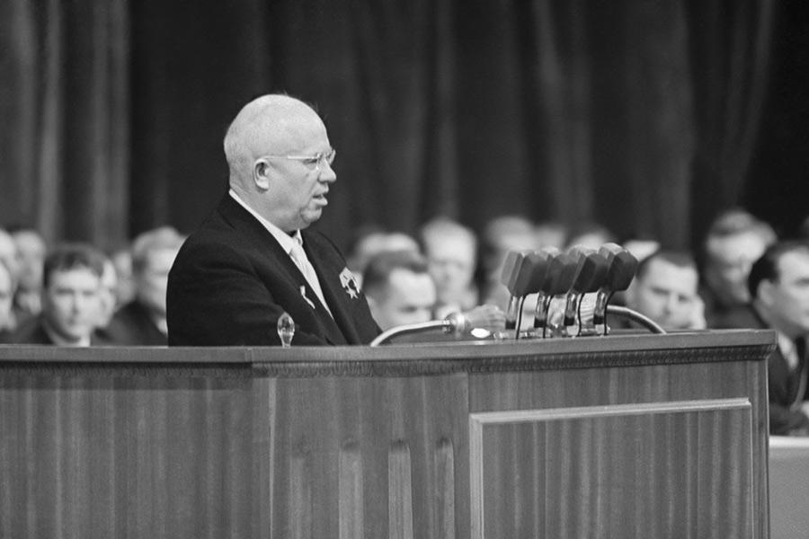 Никита Хрущев. 1959 год