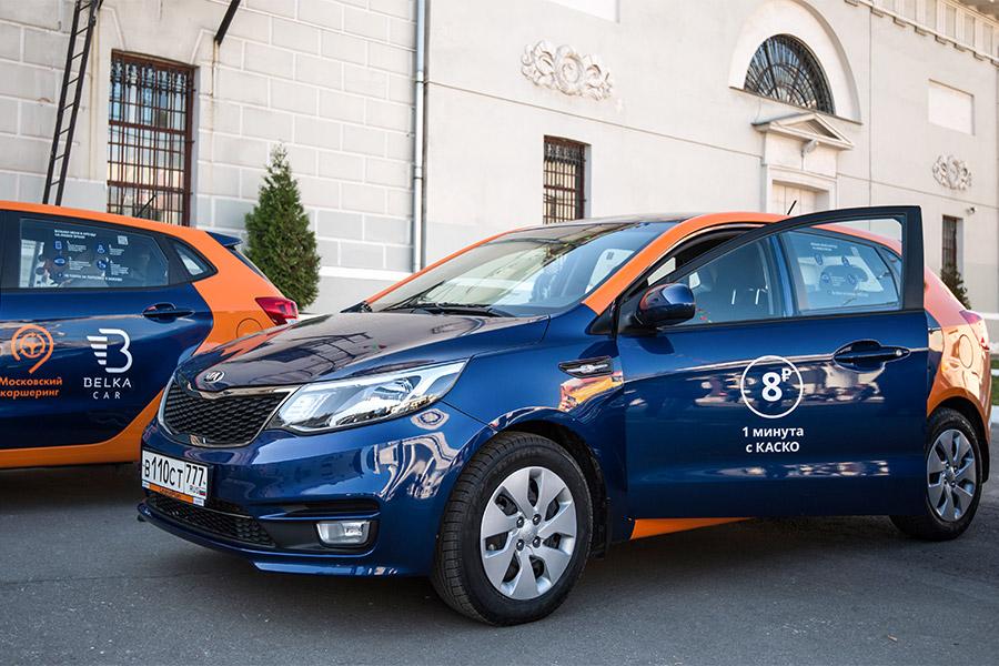 Автомобили сервиса BelkaCar