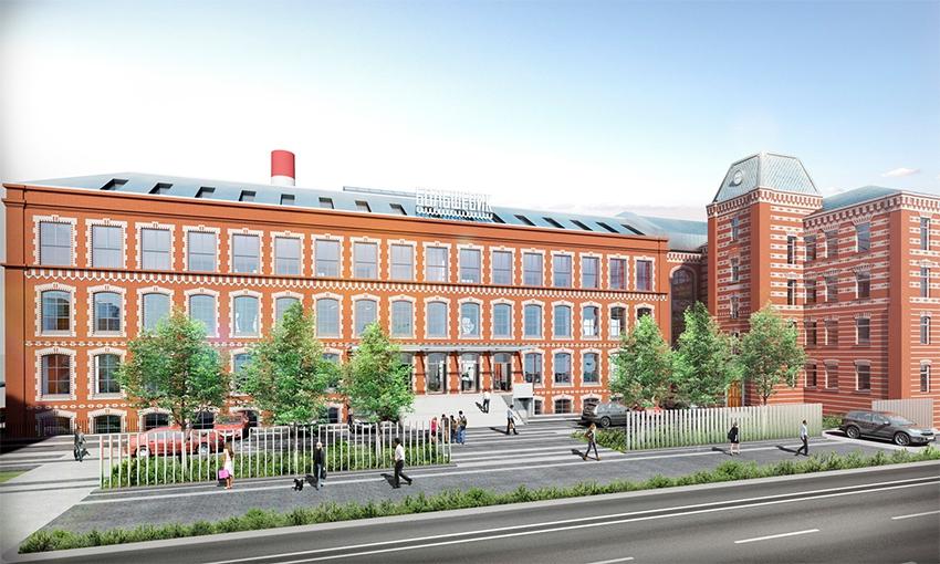 Проект реновации бывшей кондитерской фабрики «Большевик»