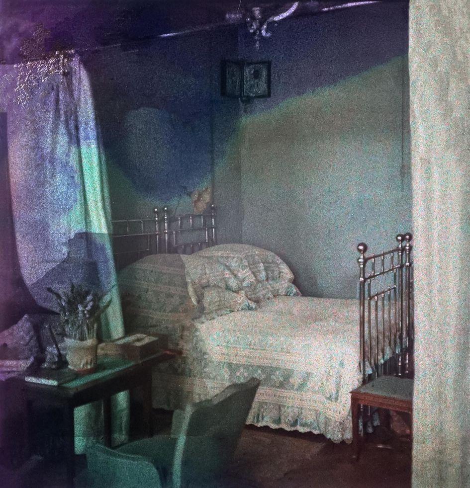 Спальняв доме страхового общества «Россия» на Сретенском бульваре
