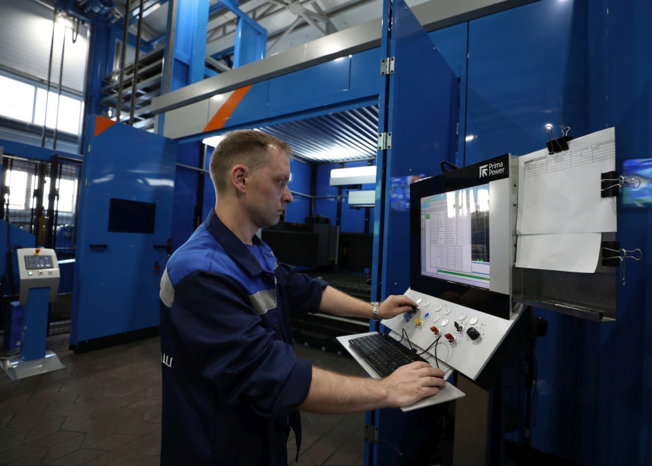 Завод ориентирован на автоматизацию производства