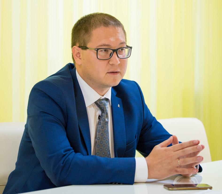 Заместитель генерального директора девелоперской компании «Унистрой» Искандер Юсупов (Фото компании «Унистрой»)