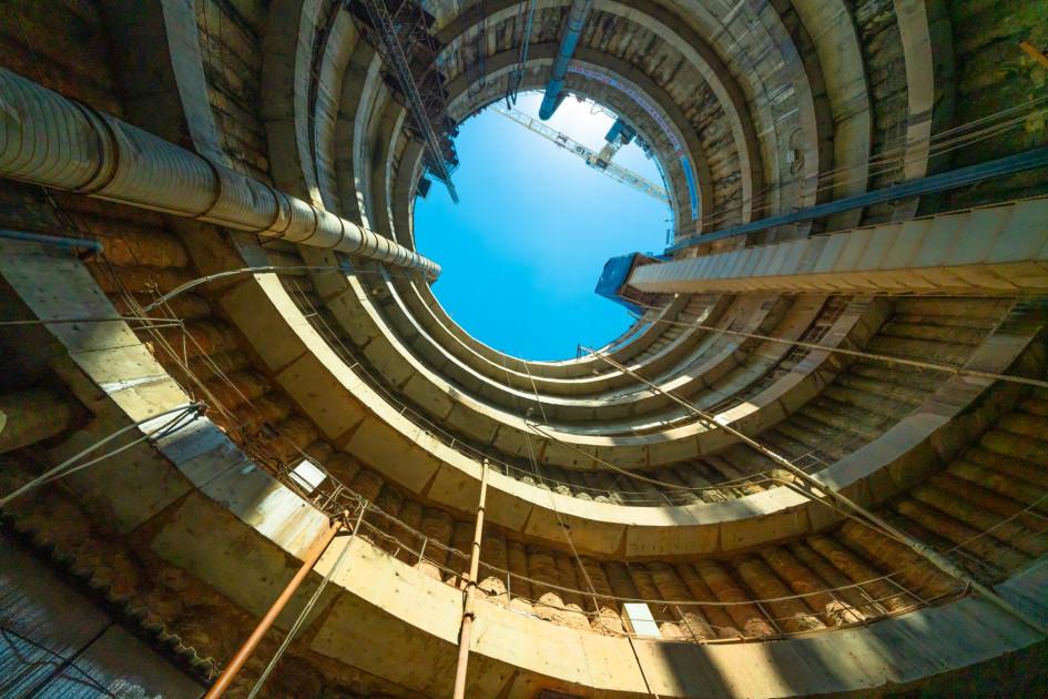Уникальная круглая монтажно-щитовая камера возле станции «Рижская» БКЛ