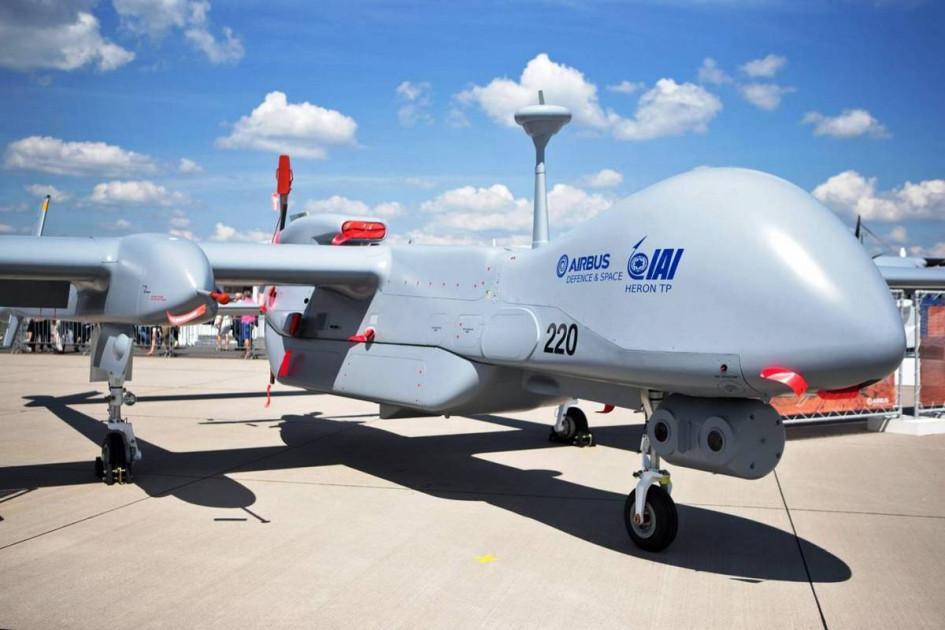 Израильский средневысотный многоцелевой беспилотник Heron TP