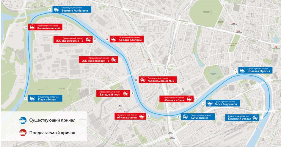 Схема маршрута 1