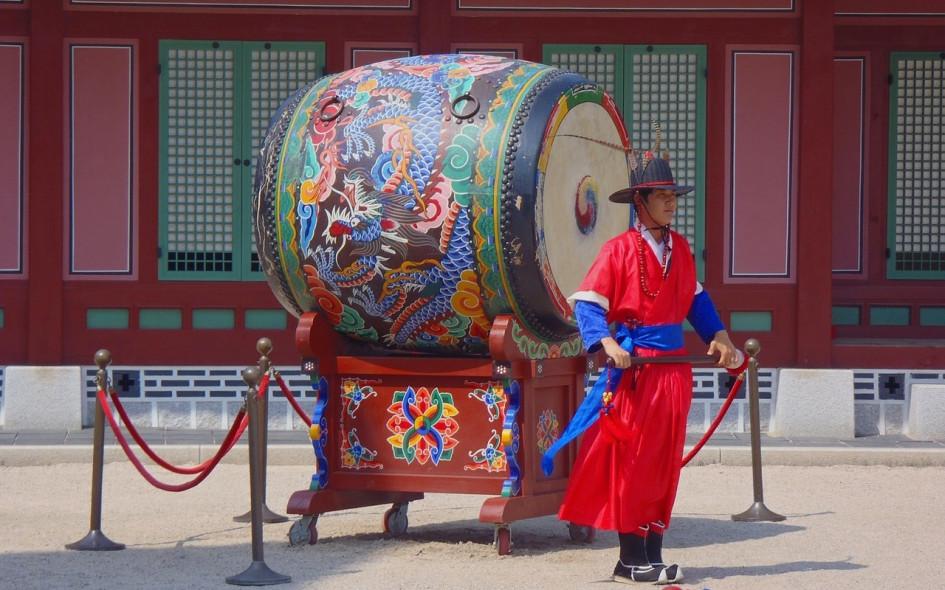В Сеуле, столице Южной Кореи