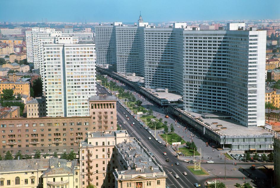 Проспект Калинина, 1970 год
