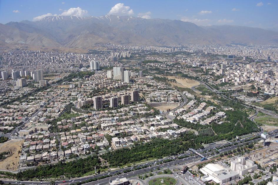 Вид на северные районы Тегерана. Арендная недвижимость здесь — одна из самых востребованных и дорогих в столице Ирана