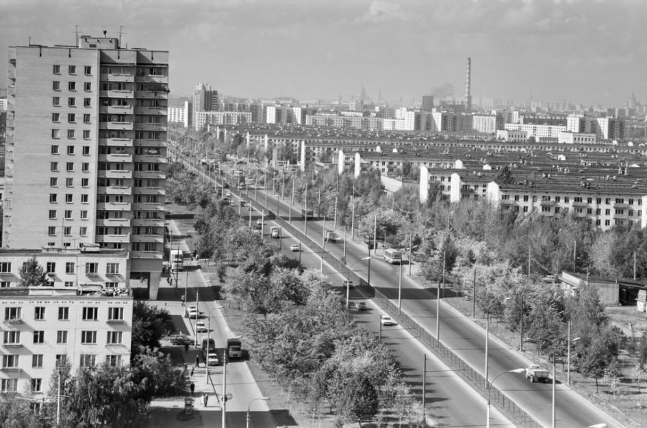 Волгоградский проспект. 1978 год