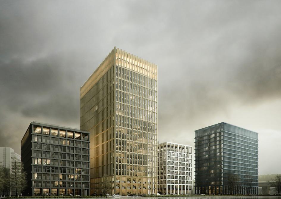 Офисный квартал STONE Towers