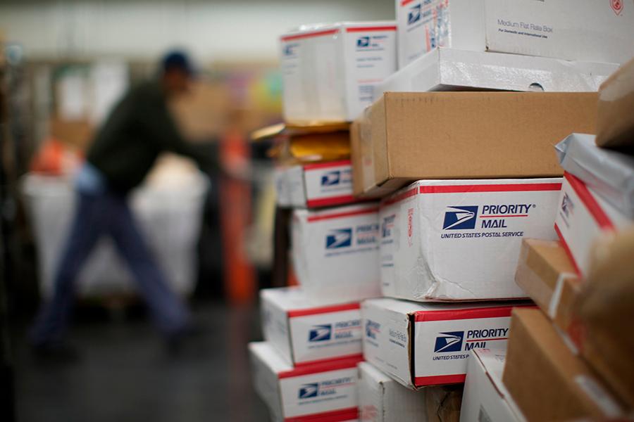Посылки почтовой службы США