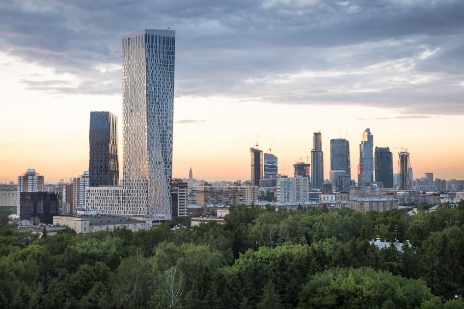 Из портфолио «Сергей Скуратов Architects»:ЖК «Дом наМосфильмовской»