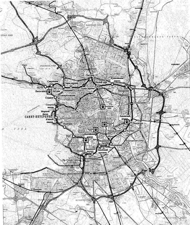 Предложенный ТССЗ проект организации городского железнодорожного пассажирского движения