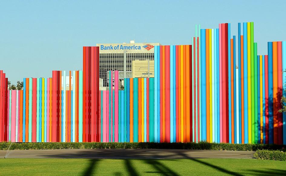 Здание Bank of America в Лас-Вегасе, США