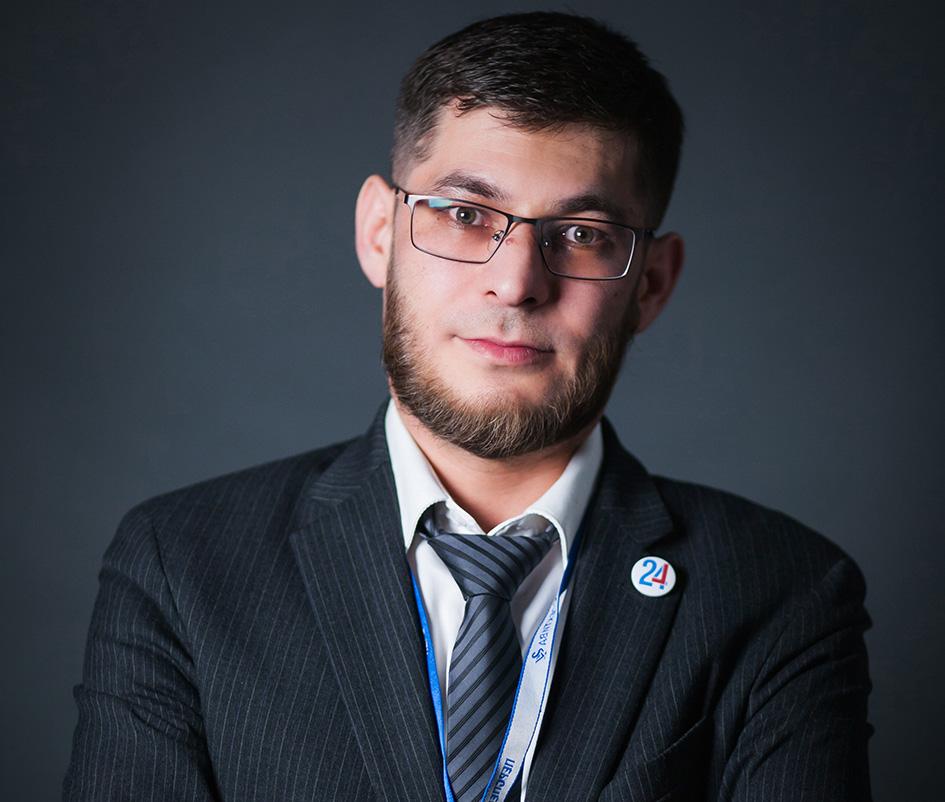 Руководитель отдела маркетинга «Перспектива 24» Руслан Гараев