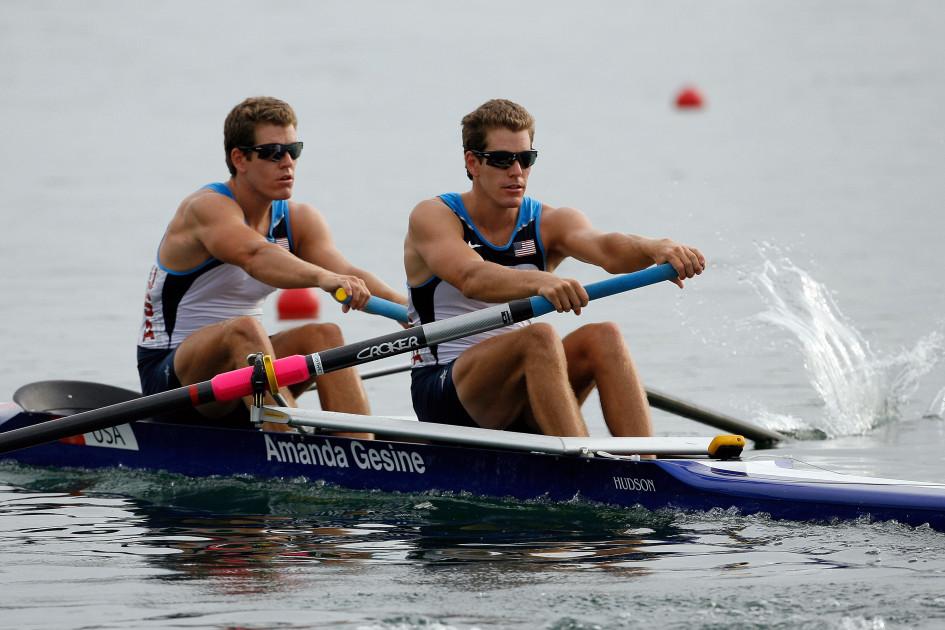 Братья Уинклвоссы на Летних Олимпийских играх-2008 в Пекине