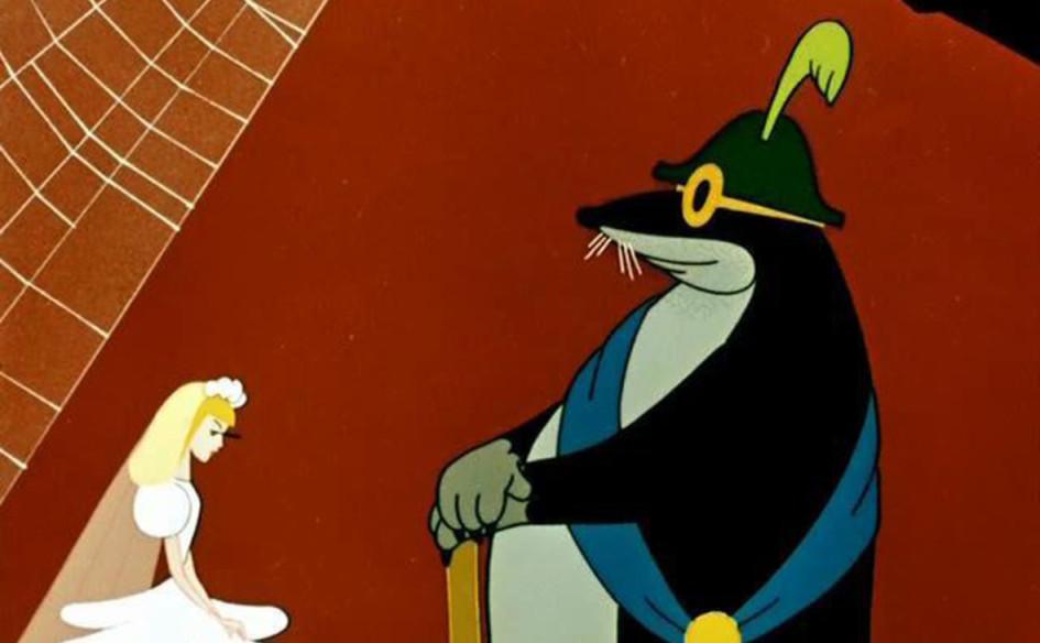 Кадр из мультфильма «Дюймовочка»