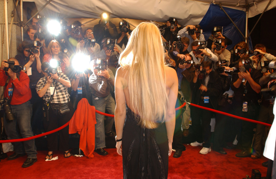 21 октября 2003. Нью-Йорк. Анна Курникова на премии GQ «Мужчины года»
